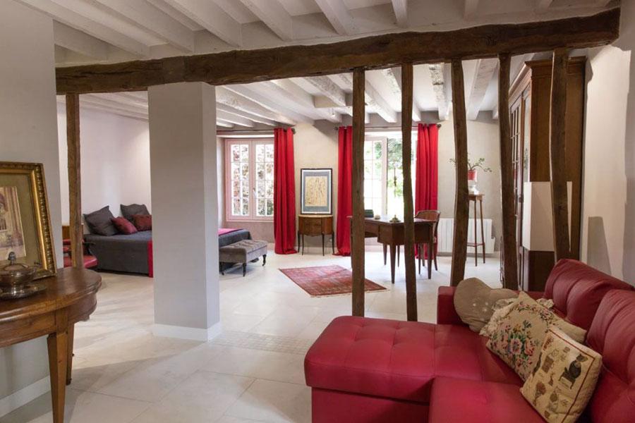 h bergement les cimaises de janvry. Black Bedroom Furniture Sets. Home Design Ideas
